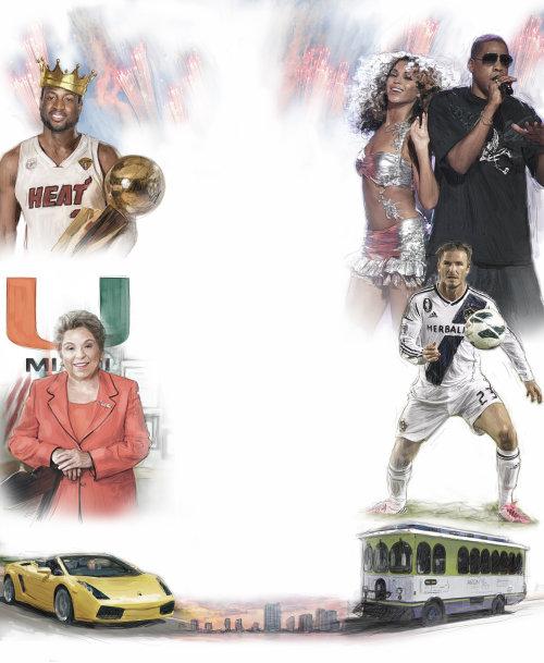 Cartel de collage multi deporte