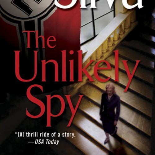 The unlikely spy book cover illustration