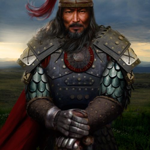 Genghis Khan Historic warriror