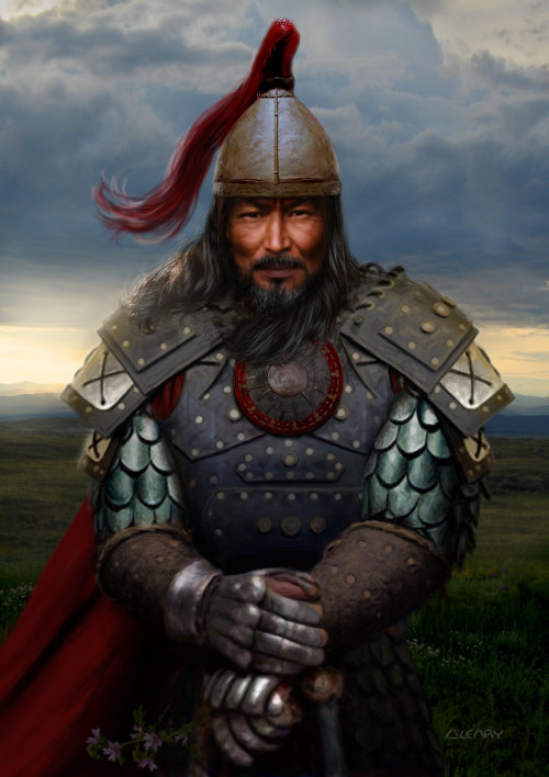 Genghis Khan Warriror histórico