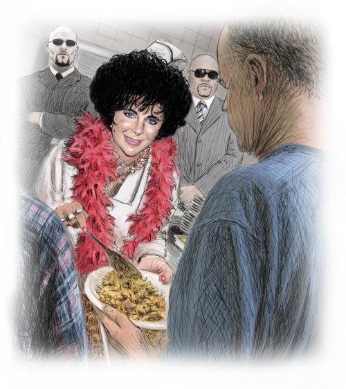 Estilo de vida Elizabeth Taylor, celebridad
