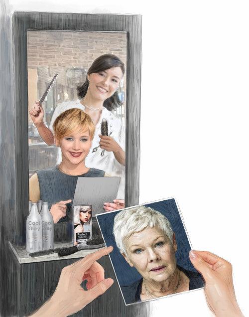 Salón de peinados de celebridades