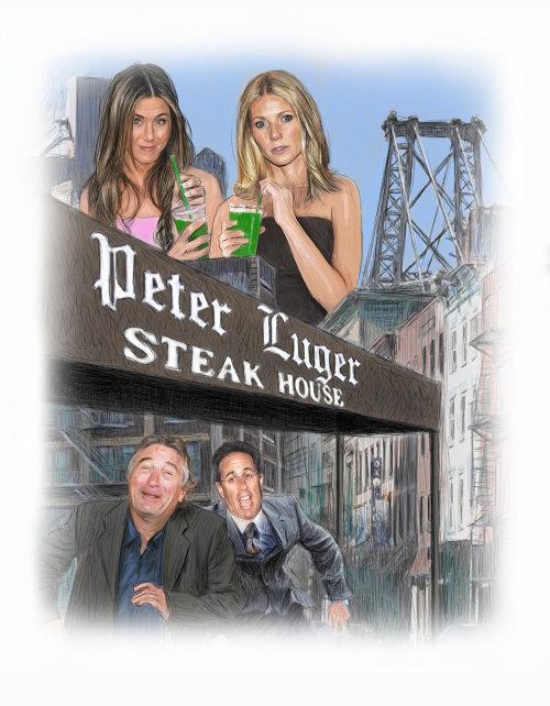 Celebridades en el asador Peter Luger