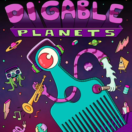 Digable Planets Poster By Daniel Sulzberg Illustrator