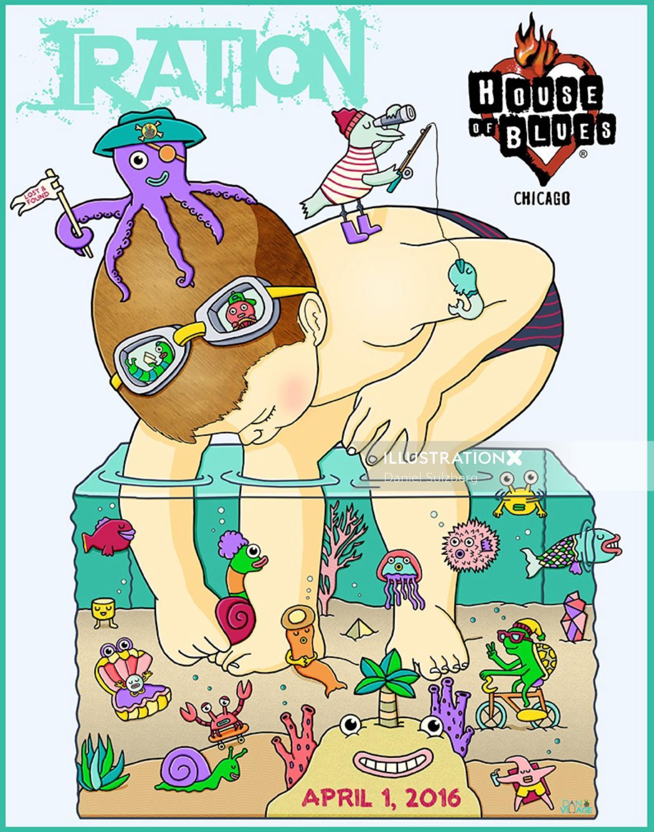 Poster Design By Santa Barbara Based Illustrator