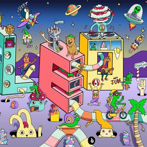 Children's Book Illustration of Leo Nursery