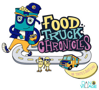 Character Illustration For Food Truck Chronicles