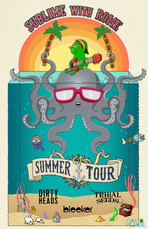 Octopus Character Design For Sublime with Rome