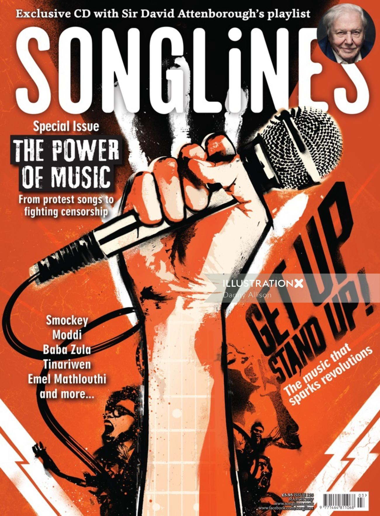 Conceptual Protest Poster of Songlines