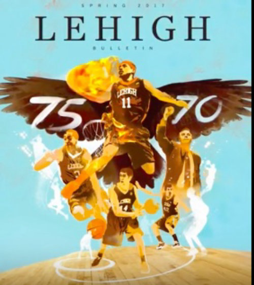 Sports & Fitness of  Lehigh Basket Ball Team Poster