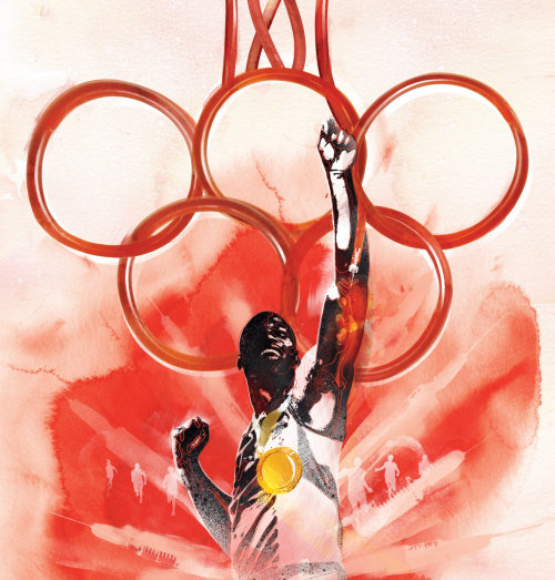 blood, doping, olympics, sport, cheat, paint, watercolour, running, sprint, sporty