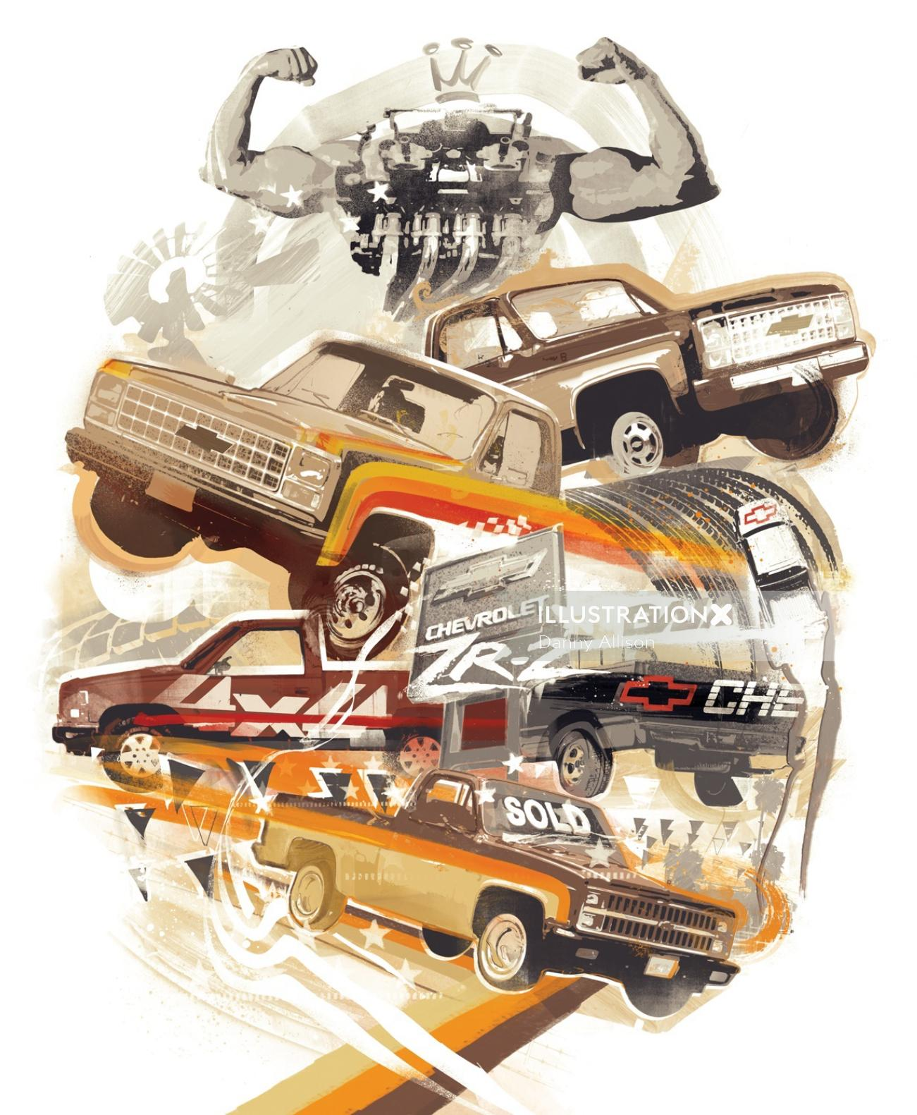 Chevrolet Cars and Truck Transport Collection