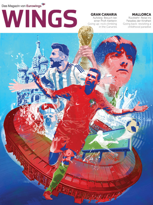 Graphic design for fife world cup