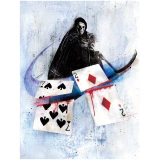 Illustration for poker Danny Allison