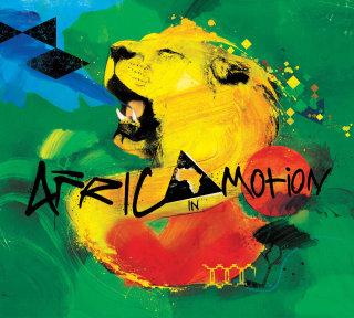 Roaring of an Africian Lion