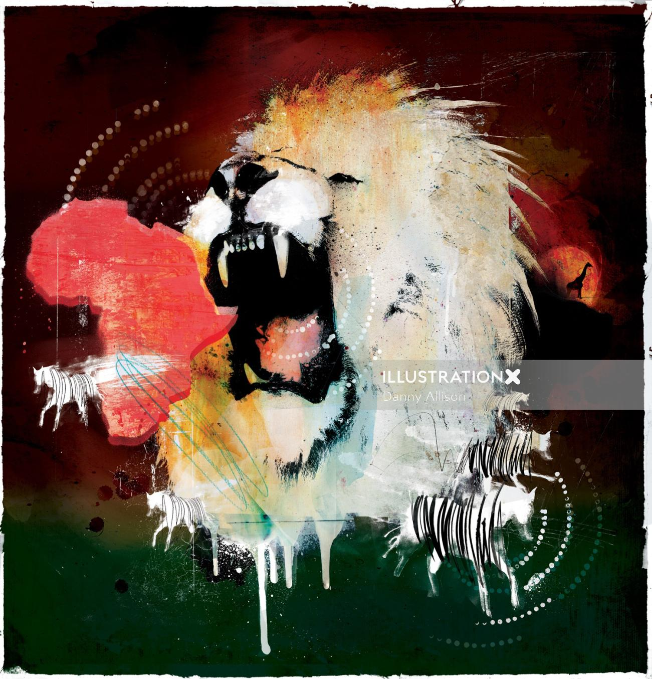 lion, roar, africa, king, jungle, wild, feral, animal, safari, zoo,predator