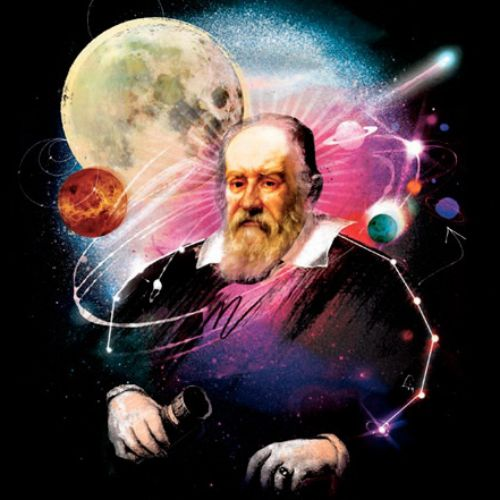 moon, planets, galileo, space, stars, portrait, astronomy, astronomer, galaxy,