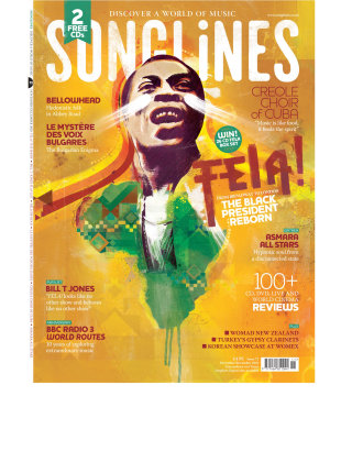 songlines, fela, kuti, hero, famous, singer, african, africa, country, shape, paint, music, world