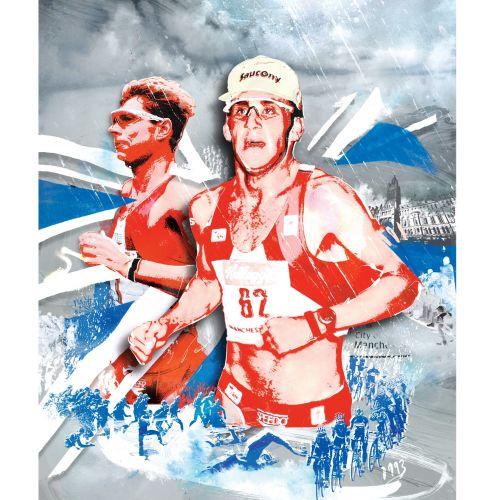 run triathlon manchester northern water swim cycle 220 jog retro
