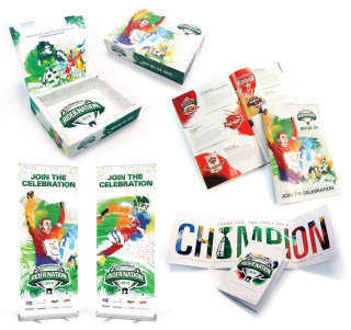 branding packaging nfl american football sport celebrate fans touchdown field goal