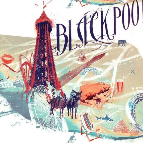 Danny Allison Illustrateur graphique. Lancashire