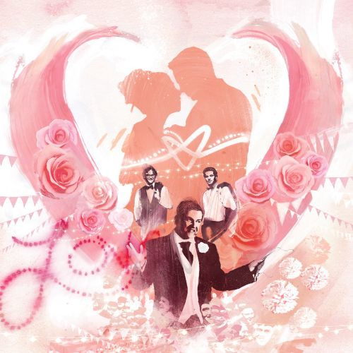 love, wedding, romance, couple, heart, best man, flowers, bunting, speech, engaged, propose