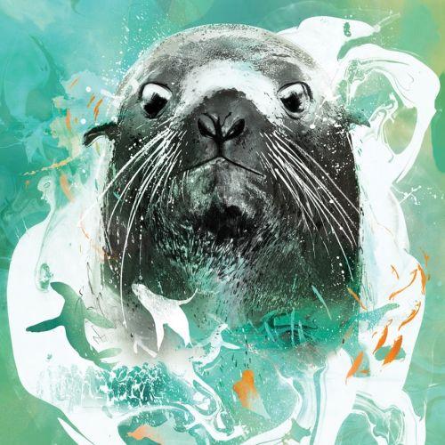 Portrait for Seattle aquarium
