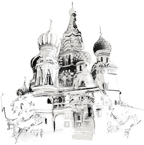 russia, moscow, black and white, reportage, buildings, building, architecture, tourism, holiday,