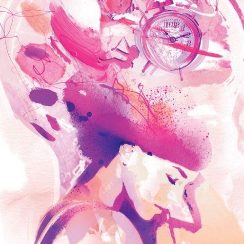 female, imagination, dream, dreams, feminine, girly, pink, dreamy, sleep, asleep, brain, mind,