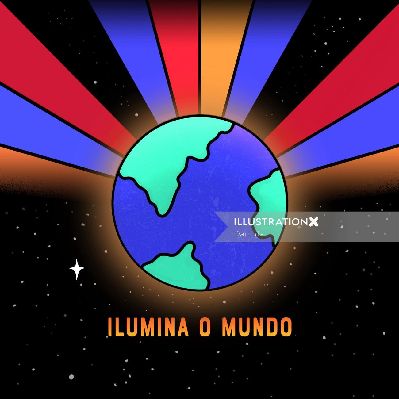 Ilumina o mundo music band cover