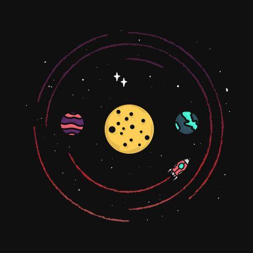 Graphic design of space