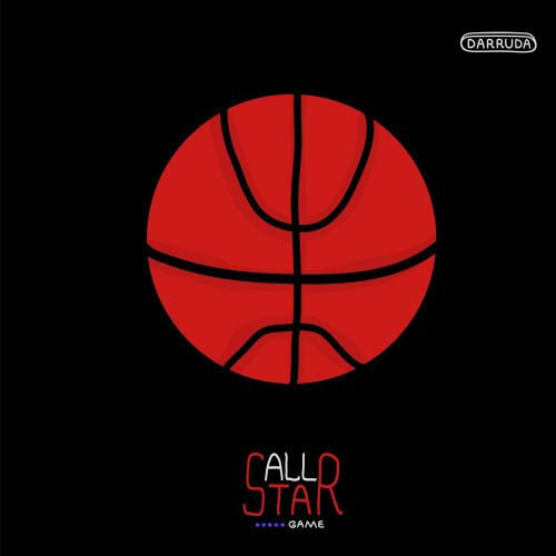 All star basket ball themed animation