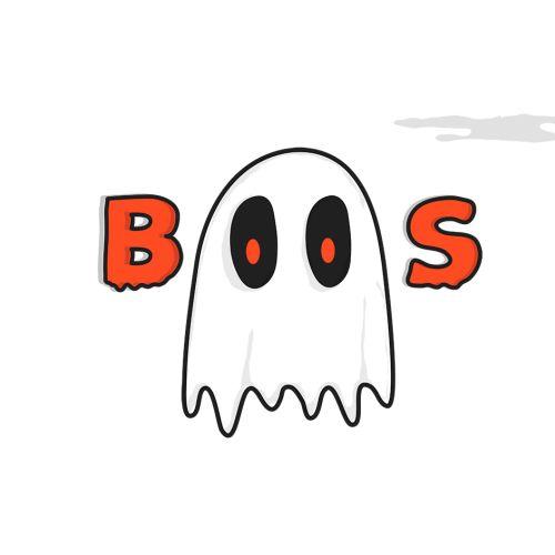 Boos gif animation