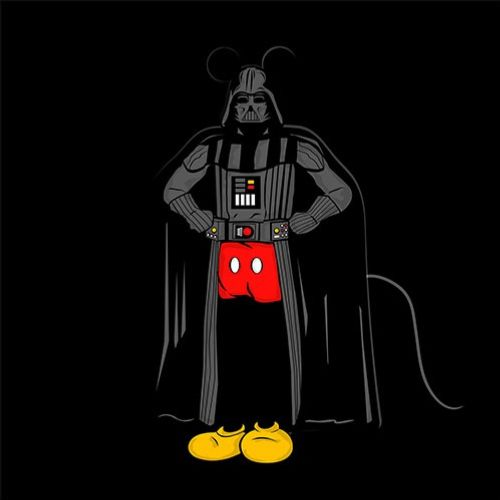 Gif of darth mouse