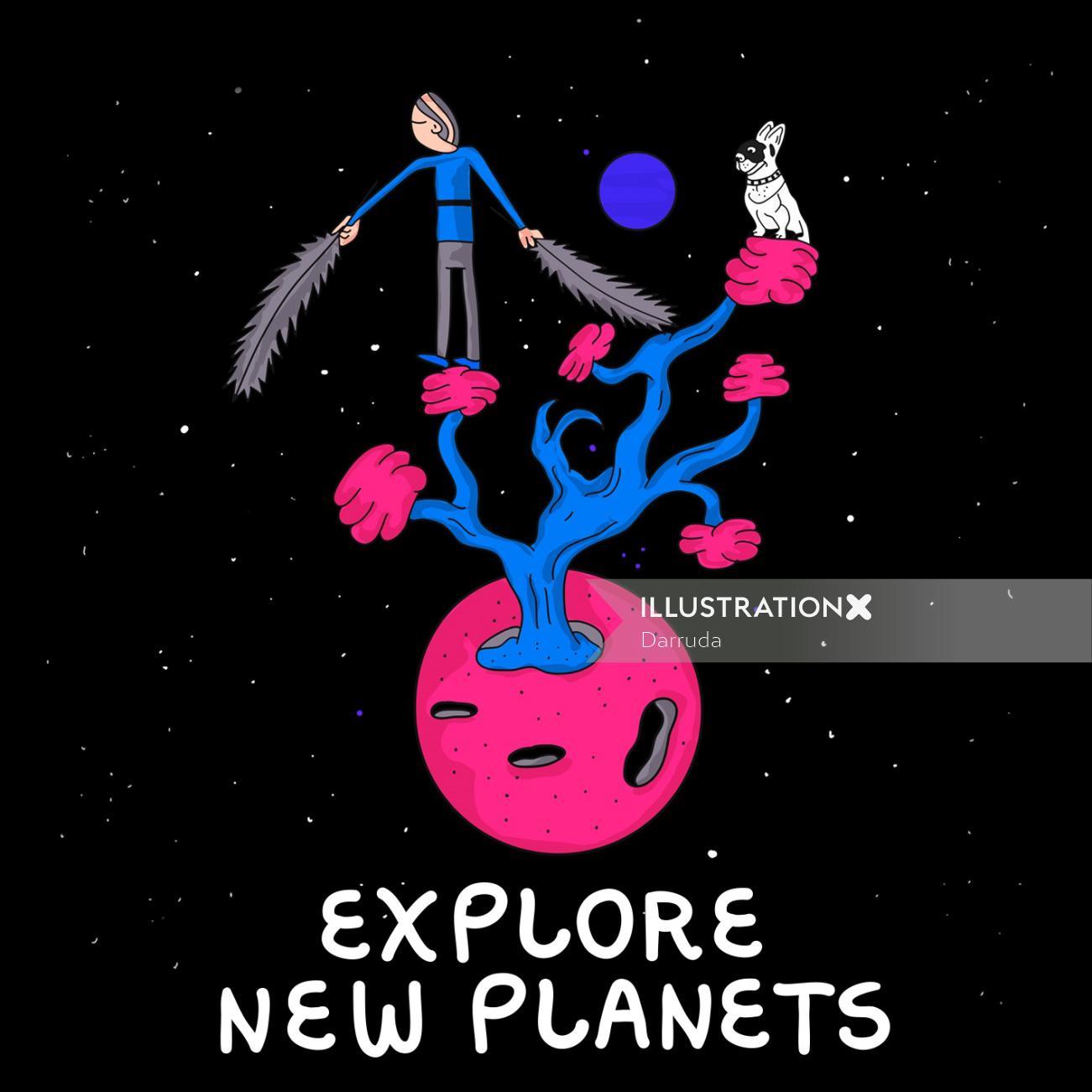 Digital explore new planets