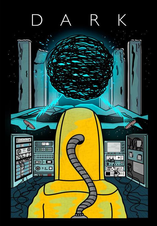 Digital illustration dark
