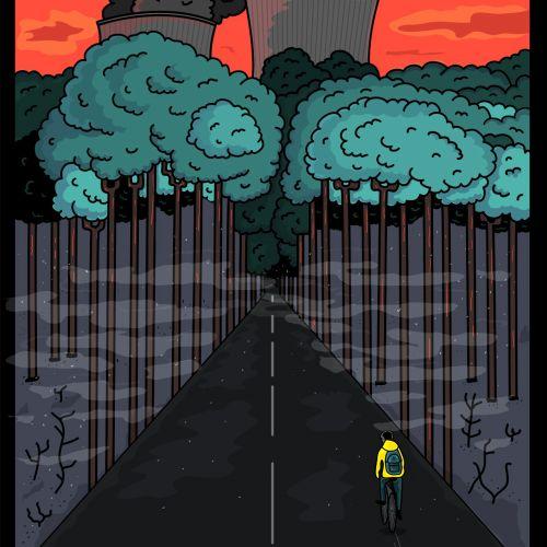 Graphic design pollution Dark