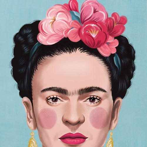 Debora Islas Portraits Illustrator from Brazil