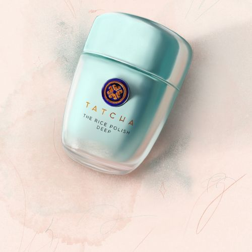 Tatcha Rice Polish Illustration