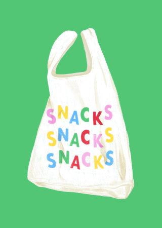 Grocery snack bag