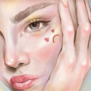 Close up female portrait by Debs Lim