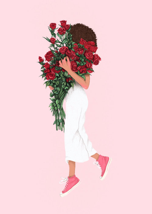 Roses inspired by Mansur Gavriel's Fall Lookbook