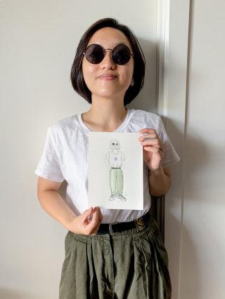 Live Drawing of Chantal