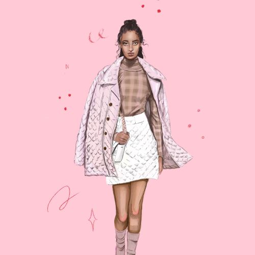 Debs Lim Fashion Illustrator from Australia