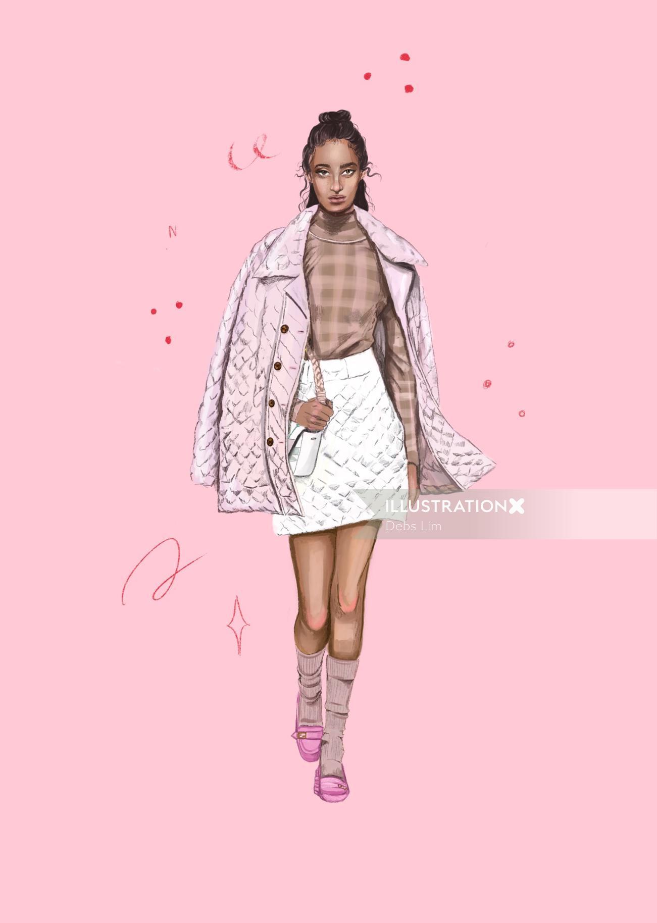 Fendy Fashion beauty poster