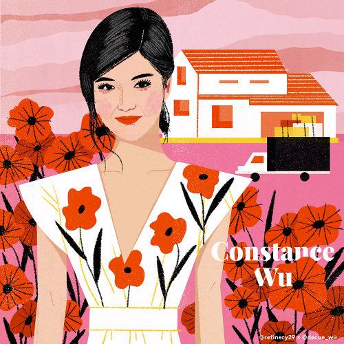 Constance Wu Portrait