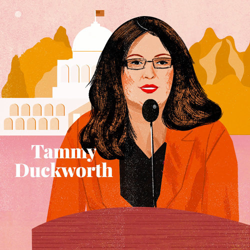Portrait of Tammy Duckworth