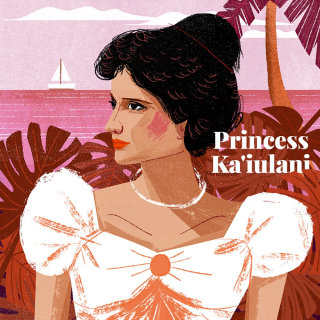 Portrait Art of Princess Kaiulani