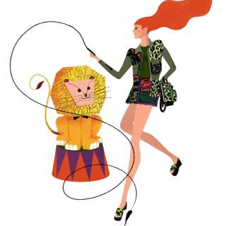 Fashion illustration for Vogue MINI. - Leo