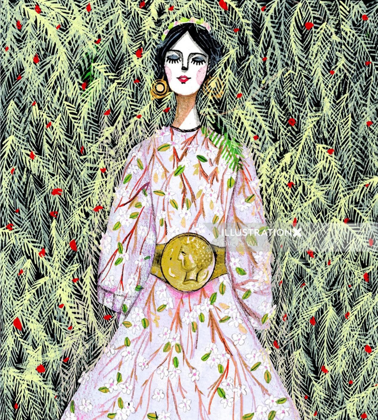 Swide Almond Blossom fashion
